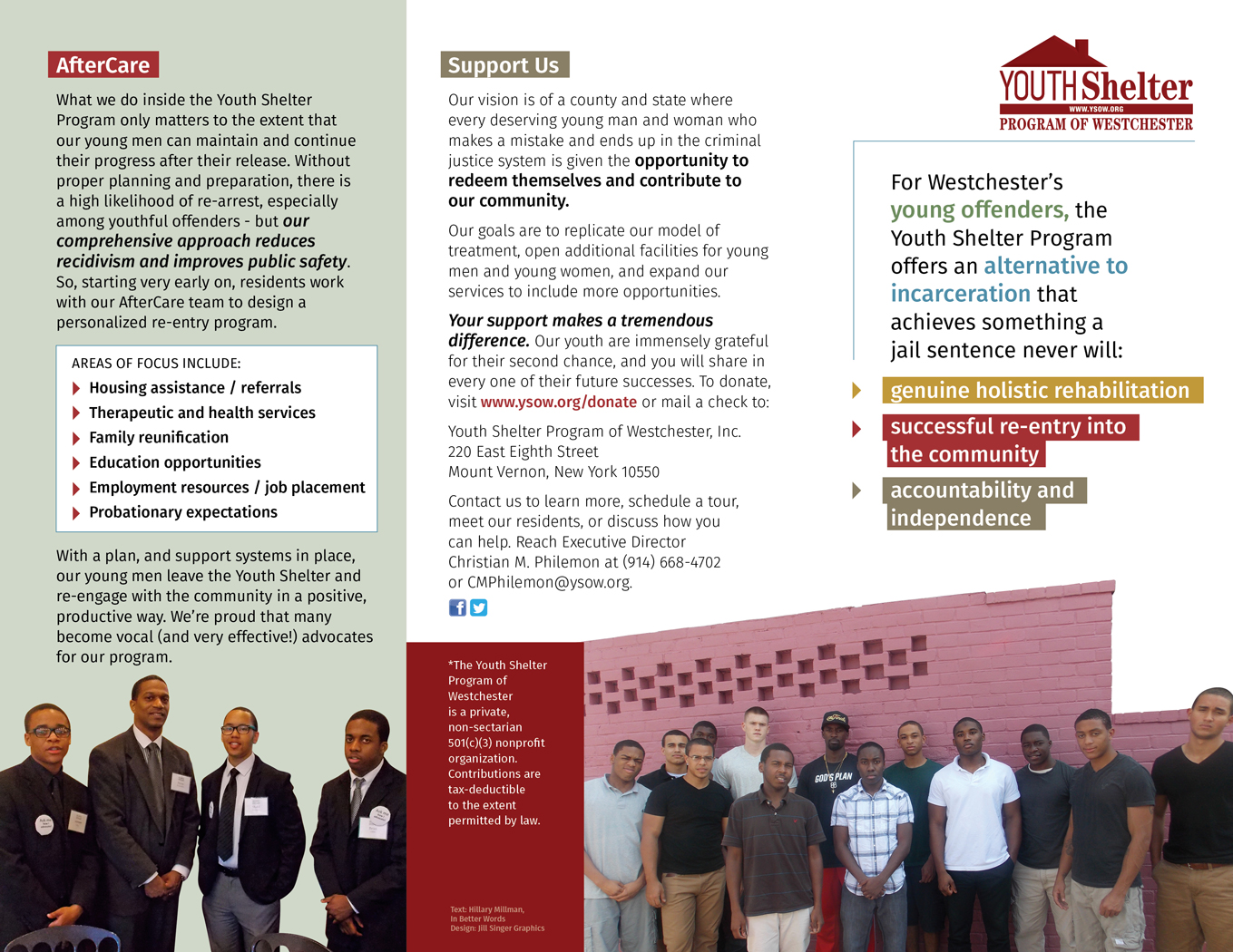 Youth Shelter Program of Westchester