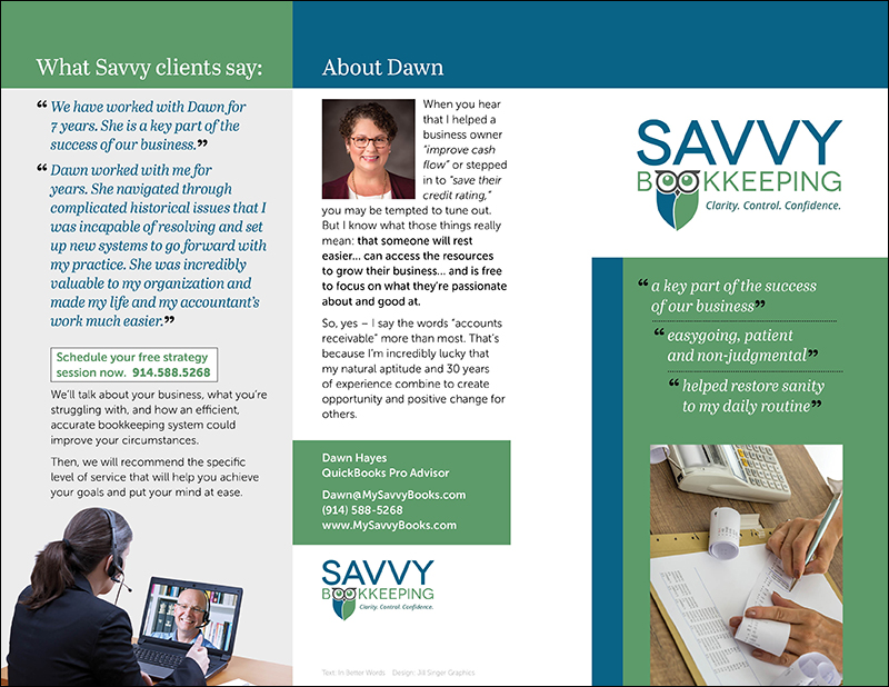 Savvy Bookkeeping