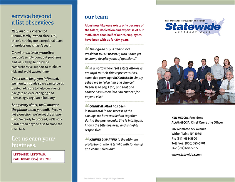 Statewide Abstract Corp